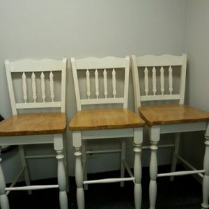 3 bar stool chair set are sold out